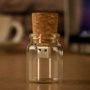 Message in Glass Bottle USB Pendrive