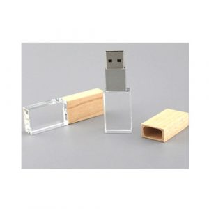 Wooden Crystal USB Pendrive